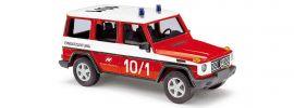 BUSCH 51413 Mercedes-Benz G-Klasse 1990 Feuerwehr Flughafen Nürnberg Blaulichtmodell 1:87 online kaufen