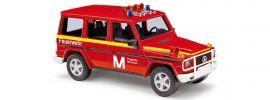 BUSCH 51426 Mercedes-Benz G-Klasse 1990 Feuerwehr Flughafen München Blaulichtmodell 1:87 online kaufen
