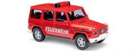BUSCH 51459 Mercedes-Benz G-Klasse facelift Feuerwehr Blaulichtmodell 1:87 online kaufen