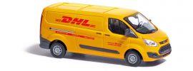 BUSCH 52411 Ford Transit Custom Kasten DHL | Modellauto 1:87 online kaufen