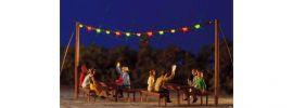 BUSCH 5408 Sommernachtsparty bunte Lichterkette Fertigmodell 1:87 online kaufen