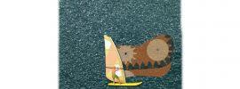 BUSCH 5486 See mit bewegtem Surfer Bausatz Spur H0 online kaufen