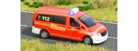 BUSCH 5594 Mercedes-Benz Vito mit Blinkelektronik Feuerwehr Blaulichtmodell 1:87 online kaufen