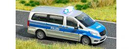 BUSCH 5597 Mercedes-Benz V-Klasse Polizei mit Blinkelektronik Fertigmodell 1:87 online kaufen