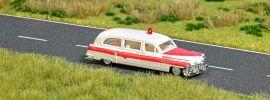 BUSCH 5611 Cadillac Station Wagon Ambulance mit Blinklicht Modellauto 1:87 online kaufen