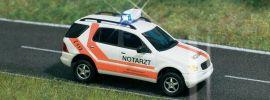 BUSCH 5631 Mercedes-Benz M-Klasse  Notarzt Blaulichtmodell 1:87 online kaufen