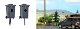 BUSCH 5633 Mülltonnenblitzer zwei Stück Spur  H0 online kaufen