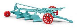 BUSCH 59914 Dreischariger Schlepperpflug Landwirtschaftsmodell 1:87 online kaufen