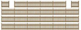 BUSCH 6007 Lattenzaun 120cm Fertigmodell  Spur  H0 online kaufen