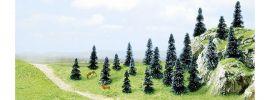 BUSCH 6598 Stecktannen | Höhe 30 mm bis 50 mm | 20 Stück | Nadelbäume Spur N+Z online kaufen