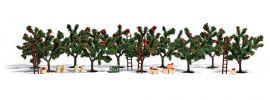 BUSCH 6620 Apfelplantage Apfelbäume mit Zubehör Spur H0 online kaufen