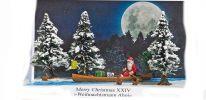 BUSCH 7618 Diorama Merry Christmas XXIV Weihnachtsmann Ahoi Fertigmodell 1:87 online kaufen