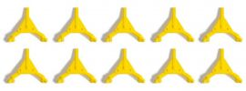 BUSCH 7767 MiniSet Parkkrallen 10 Stück Fertigmodell 1:87 online kaufen
