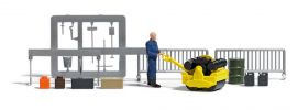 BUSCH 7805 Straßenwalze mit Figur und Zubehör 1:87 online kaufen