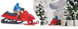 BUSCH 7818 Motorschlitten mit Figur Fertigmodell 1:87 online kaufen