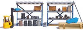 BUSCH 7845 Action-Set Gabelstapler mit Fahrer Bausatz 1:87 online kaufen