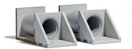 BUSCH 7891 Gewässerdurchlass 2 Stück LaserCut Bausatz Spur H0 online kaufen