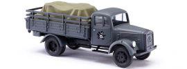 BUSCH 80081 LKW L 3000 A mit Ladegut | Militaria-Modell 1:87 online kaufen