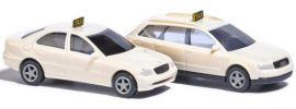 BUSCH 8341 Taxi-Set 2 Fahrzeuge | Automodelle 1:160 online kaufen