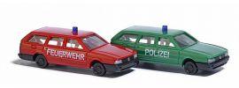 BUSCH 8344 VW Passat Feuerwehr und Polizei Blaulichtmodell 1:160 online kaufen