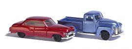 BUSCH 8349 Chevy Pick up und Buick Super Automodell 1:160 online kaufen