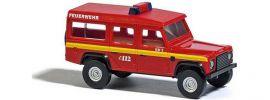 BUSCH 8376 Land Rover Defender Feuerwehr | Modellauto 1:160 online kaufen