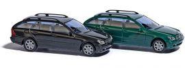 BUSCH 89136 Mercedes-Benz C-Klasse T-Modell S203 schwarz Automodell 1:87 online kaufen