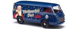 ausverkauft | BUSCH DreiKa 94023 Goliath Express 1100 Kastenwagen Mönchshof Weihnachtsbier Automodell 1:87 online kaufen