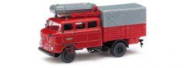 BUSCH 95161 IFA W50 RTGW Feuerwehr Blaulichtmodell 1:87 online kaufen