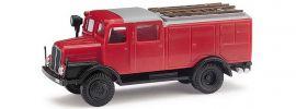 BUSCH 95602 IFA S4000 Tanklöschfahrzeug Feuerwehr Blaulichtmodell 1:87 online kaufen