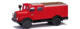 BUSCH 95610 IFA S4000 Tanklöschfahrzeug Feuerwehr Buschheide Blaulichtmodell 1:87 online kaufen