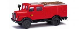 BUSCH 95611 IFA S4000 Tanklöschfahrzeug NVA rot Blaulichtmodell 1:87 online kaufen