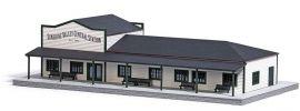 BUSCH 9721 US Bahnhof Train Station LaserCut Bausatz Spur H0 online kaufen