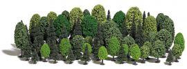 BUSCH 9764 Mischwald mit 70 Bäumen Zubehörset H0 und N online kaufen