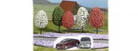 BUSCH 9765R Zubehörset Fühlingserwachen mit BMW M6 rotmetallic Strasse Wiese Bäumen 1:87 online kaufen