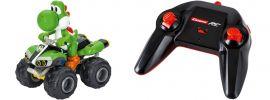Carrera 200997 Mario Kart  - Yoshi Quad RC-Fahrzeug | 2.4 GHz | RTR | 1:20 online kaufen