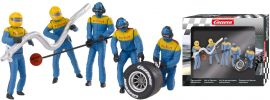 Carrera 21132 Digital 132 / Evolution Figurensatz Mechaniker, blau | 5 Stück | 1:32 online kaufen