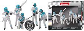 Carrera 21133 Digital 132 / Evolution Figurensatz Mechaniker, silber | 5 Stück | 1:32 online kaufen