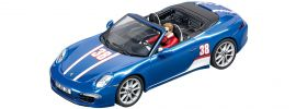 Carrera 27550 Evolution Porsche 911 Carrera S Cabriolet No.38 | Slot Car 1:32 online kaufen