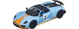 Carrera 30788 Digital 132 Porsche 918 Spyder   Gulf Racing No.02   Slot Car 1:32 online kaufen