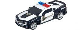 Carrera 64031 GO!!! Chevrolet Camaro ZL1   Sheriff '15   Slotcar 1:43 online kaufen