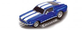 Carrera 64146 Go!!! Ford Mustang 67 Racing Blue | Slot Car 1:43 online kaufen