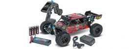 CARSON 500404133 XL Desert Warrior 2.0 Brushless 2.4GHz | RC Auto Komplett-RTR 1:10 online kaufen
