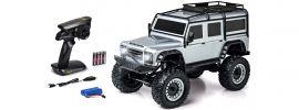 CARSON 500404172 Land Rover Defender silber | 2.4GHz | RC Auto Komplett-RTR 1:8 online kaufen