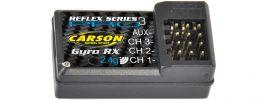CARSON 500501539 Empfänger Nano + Gyro 2.4GHz | für Reflex Pro 3 online kaufen