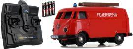 CARSON 500504120 VW T1 Bus Kastenwagen Feuerwehr 2.4GHz | RC Auto 1:87 Spur H0 online kaufen