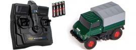 CARSON 500504126 MB Unimog U406 Forst | 2.4GHz | RC Auto 1:87 Spur H0 online kaufen