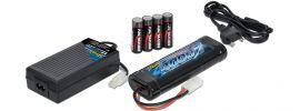 CARSON 500607013 Ladeset Expert Charger NiMH Compact 4A + Akku + Senderbatterien online kaufen