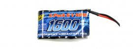 CARSON 500608159 Akku Pack | 6 Volt | 1600 mAh | NiMH | JR-Stecker online kaufen