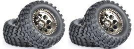 CARSON 500900140 Reifen-Set Offroad Cross Country | 4 Stück | für CC-01 Chassis online kaufen